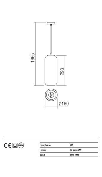 Suspensie interior Redo HAYLEN 01-1403