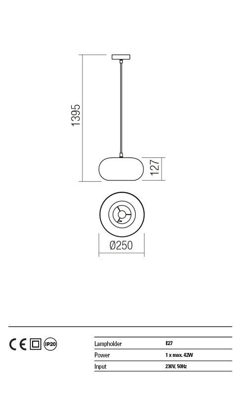 Suspensie interior Redo HAYLEN 01-1404