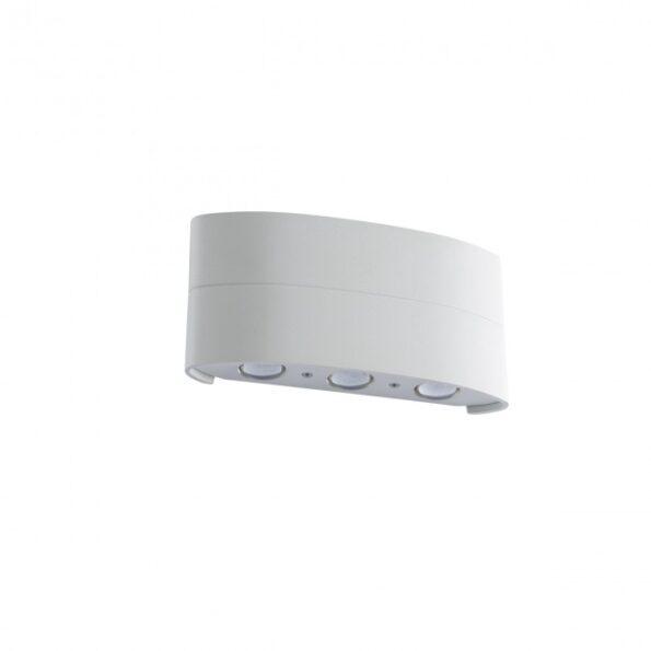 Aplica LED exterior Redo FABO 9086 alb, dispersie directa-indirecta