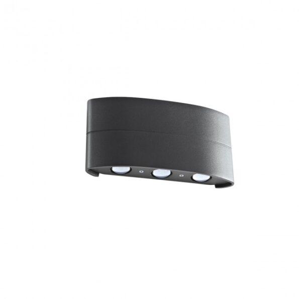 Aplica LED exterior Redo FABO 9087 gri