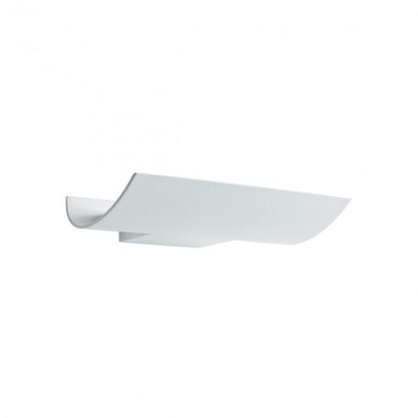 Aplica LED pentru exterior Redo VELA 9111, distributie luminoasa indirecta + driver, alb
