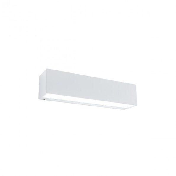 Aplica exterior LED 18W Redo TRATTO 9117, distributie directa-indirecta, alb mat