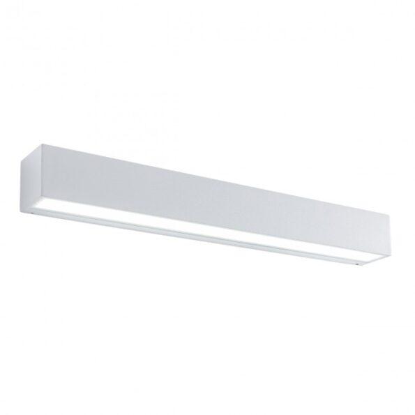 Aplica exterior LED 18W Redo TRATTO 9120, distributie directa, alb mat