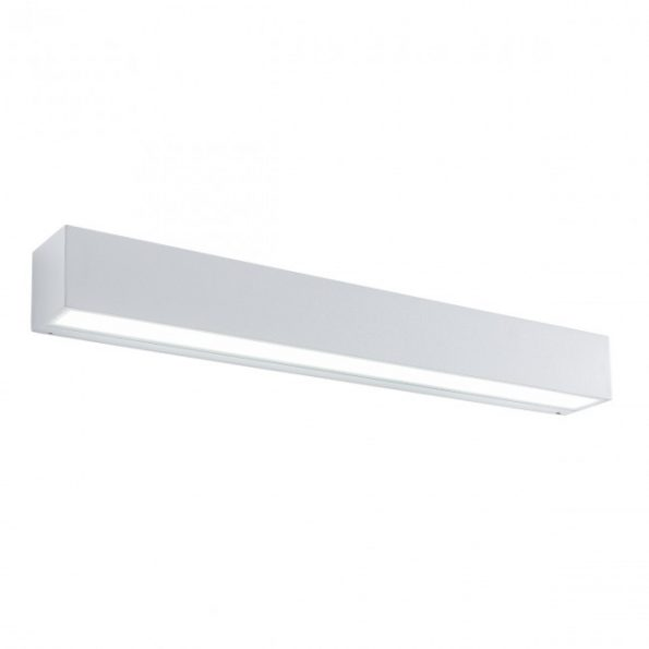 Aplica exterior LED 36W Redo TRATTO 9113, distributie directa-indirecta, alb mat
