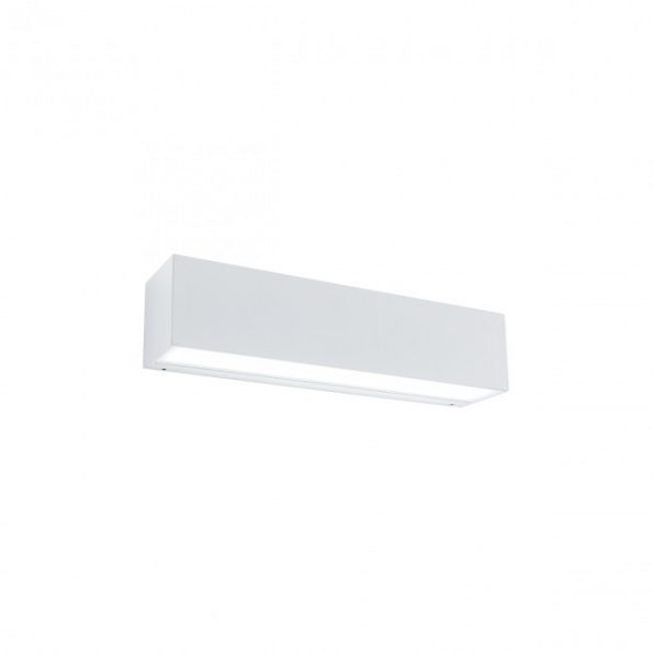 Aplica exterior LED 9W Redo TRATTO 9122, distributie directa, alb mat