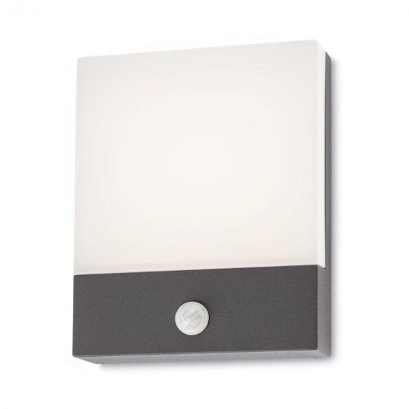 Aplica exterior LED Redo FACE 9164, senzor de prezenta