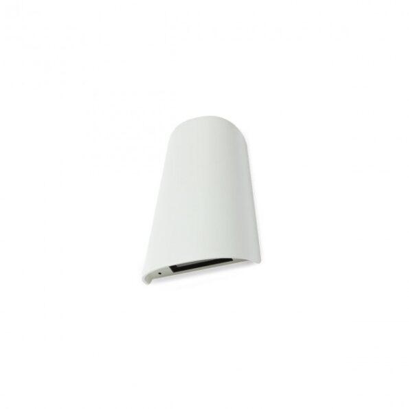 Aplica exterior Redo TWILL 9540 LED SMD 12W, distributie luminoasa directa-indirecta, alb
