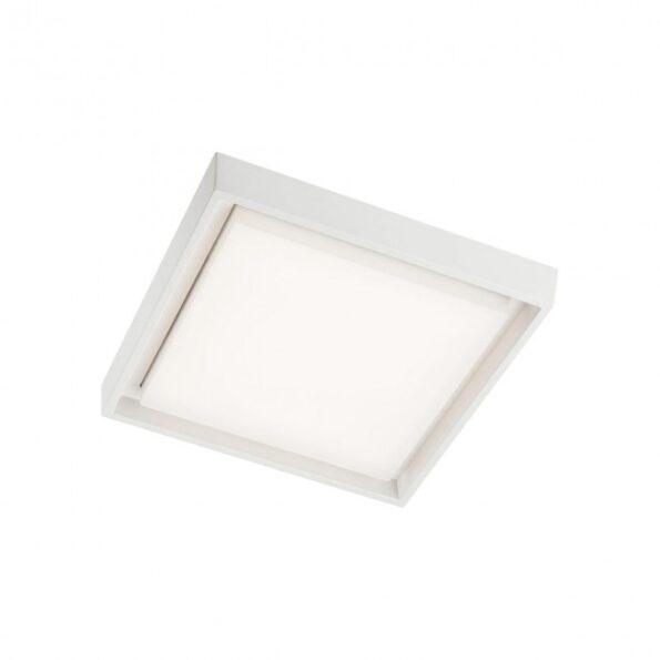 Aplica exterior patrata Redo BEZEL 9186 LED 25W, alb