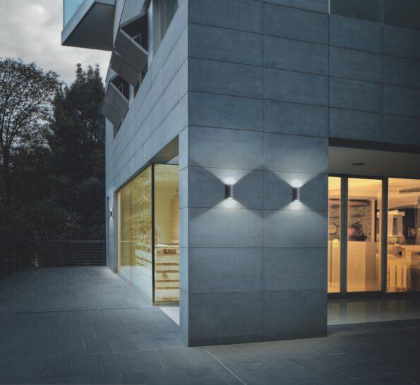 Serie de aplice LED pentru iluminat exterior Redo ZIP