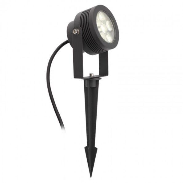 Miniproiector orientabil exterior LED 6W, 3000K Redo FARO 9432