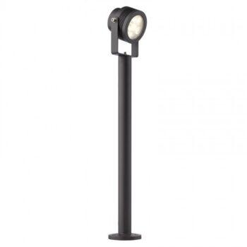 Redo FARO 9438 -stâlp cu proiector orientabil pentru exterior, echipat cu POWER LED 6 x 1W, 4100K (alb neutru)