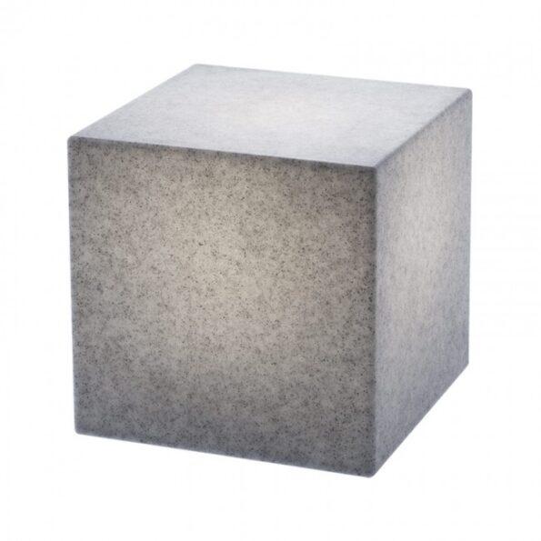 Corp iluminat exterior decorativ LED Redo DADOS 9693 300mm, imitație granit