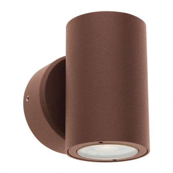 """Redo MINIROUND 9922 - Aplică pentru exterior, echipată LED 2 x 3W, dispersie luminoasă directă/indirectă cu efect de lumină """"wall washer"""""""