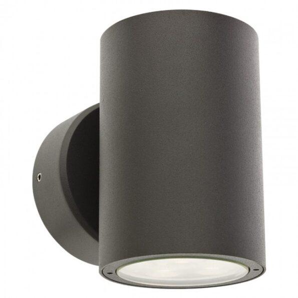 """Aplică exterior LED 2x6W Redo ROUND 9925 dispersie directă/indirectă, efect """"wall washer"""""""