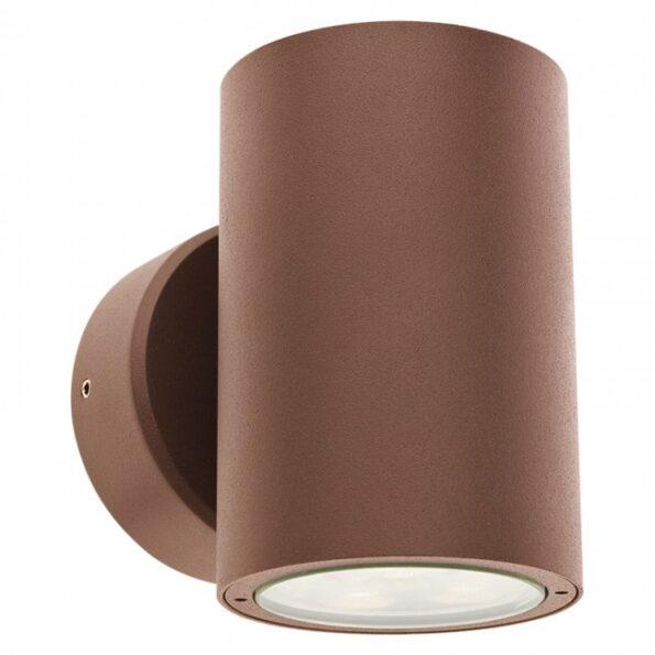"""Aplică exterior LED 2x6W Redo ROUND 9926, dispersie directă/indirectă, efect """"wall washer"""""""