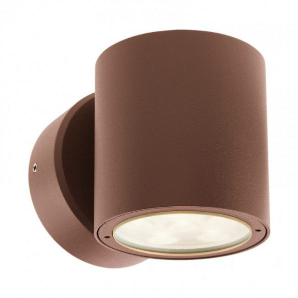 Aplică exterior LED 6W Redo ROUND 9928, dispersie directă/indirectă