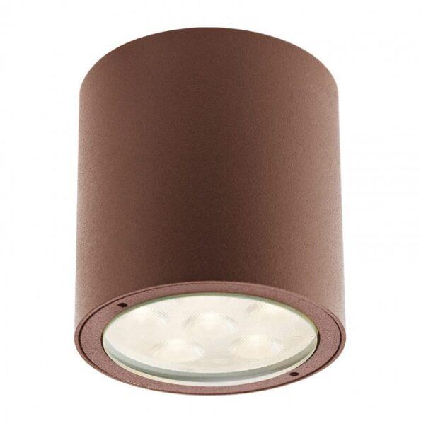 """Plafonieră exterior LED 6W Redo ROUND, 9930 dispersie directă/indirectă, efect """"wall washer"""""""