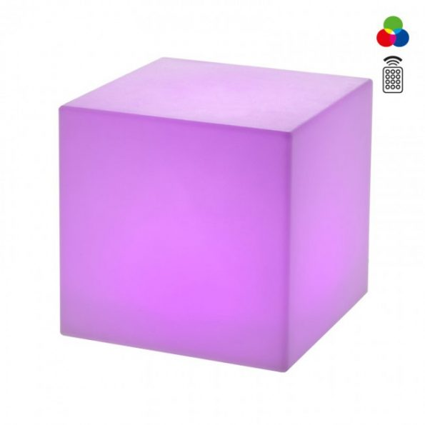 Corp iluminat exterior decorativ LED Redo DADOS 9991, multicolor