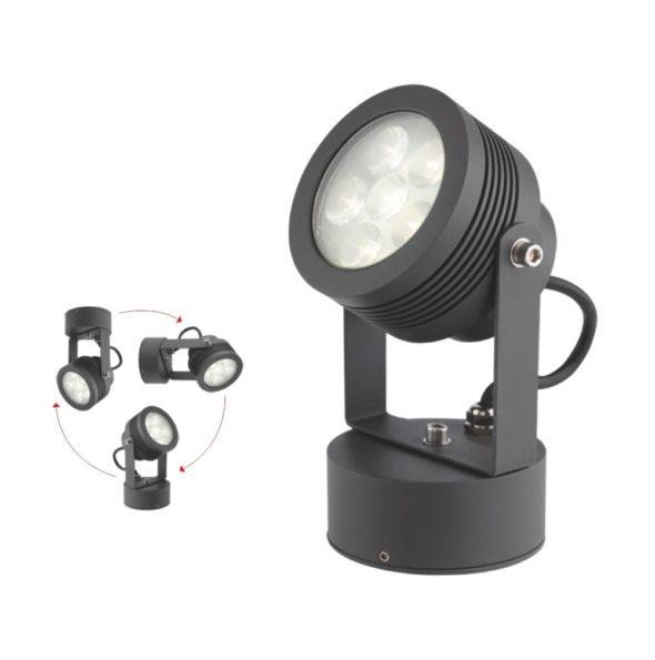 Miniproiector orientabil pentru exterior LED Redo FARO