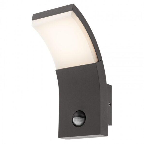 Aplică exterior LED 7W cu senzor prezență Redo SLIDER 9174