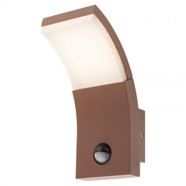 Aplică exterior LED 7W cu senzor prezență Redo SLIDER 9175