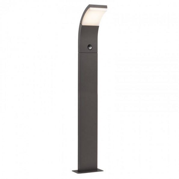 Stâlp iluminat exterior LED 7W cu senzor de prezență Redo SLIDER 9718