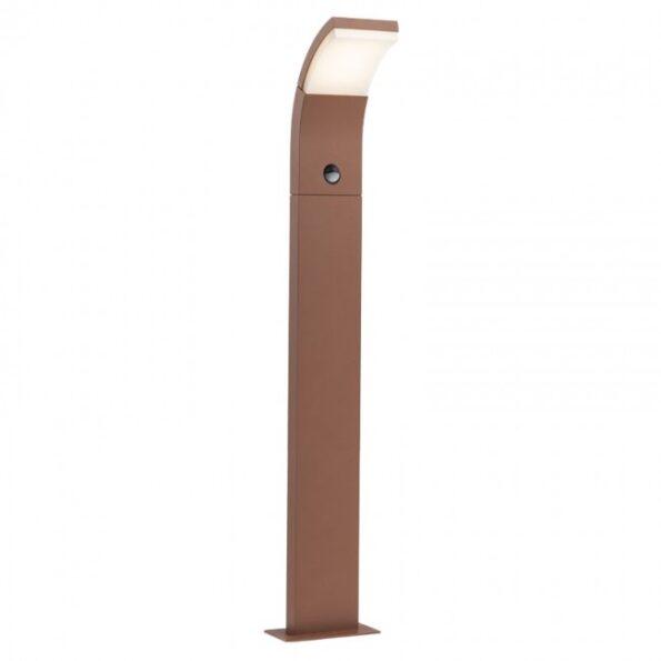 Stâlp iluminat exterior LED 7W cu senzor de prezență Redo SLIDER 9719