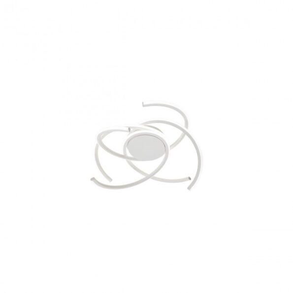 Redo ALIEN 01-1799 - Plafonieră pentru interior echipată cu LED-uri SMD, structură din aluminiu și metal alb mat