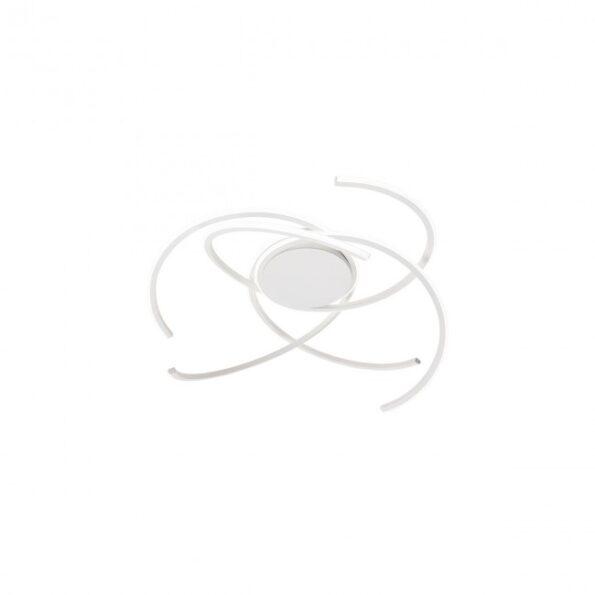 Redo ALIEN 01-1801 - Plafonieră pentru interior echipată cu LED-uri SMD, structură din aluminiu și metal alb mat