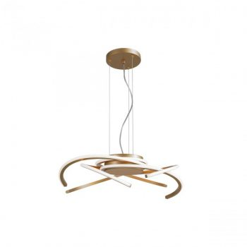 Suspensie LED 45W Redo ALIEN 01-1804, finisaj bronz