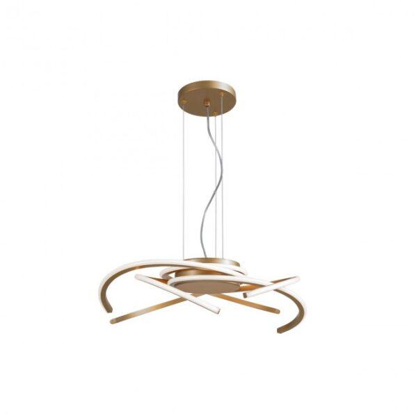 Suspensie LED 45W Redo ALIEN 01-1804, finisaj bronz